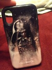OTTERBOX iPhone X DARTH VADOR STAR WARS CASE GREAT CONDITION NO SCRATCHES