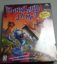 Rare Big Box PC Junkland Jam NEW W/ Harmonica