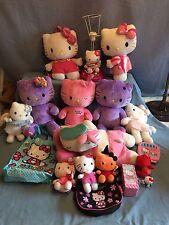 Hello Kitty Lot Build a Bear Plush