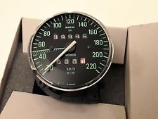 BMW R 100 RS RT CS S T TACHIMETRO SPEEDOMETER MOTOMETER CIFRE VERDI GAUGE TACHO