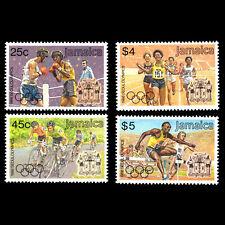 Jamaica 1988 - Olympic Games - Seoul, South Korea - Sc 694/7 MNH