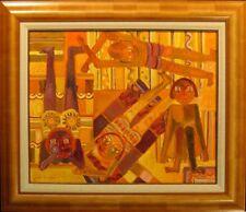 "Josette Bardoux ""Summer Day In August"" Original Oil Painting Canvas Make Offer!"
