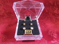 3 Pairs Cubic Zirconia Earrings Retail $99.95