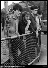 Poster JOY DIVISION - Stockport 1979 (Here are the young men)  NEU  (13663)