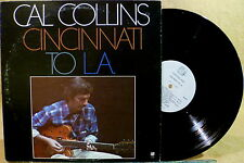 Concord Jazz Guitar LP CAL COLLINS Cincinati To L.A.
