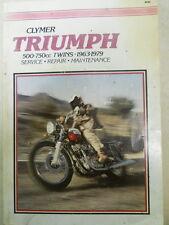 Triumph Service Manual, 1963-79, 500-750cc Twins, M382, 8th printing 1991.   xxx