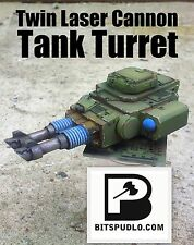 Alternative Twin-linked Lascannons Turret for Predator or Leman Russ