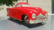 VINTAGE ZIL ZIS TIN TOY CAR RETRO VEHICLE WIND UP PREWAR USSR CCCP KT-724 KEY