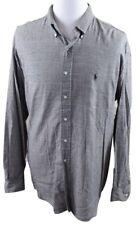 NEW Ralph Lauren Blaire Mini Houndstooth Button Down Shirt MENS 2XL XXL Gray