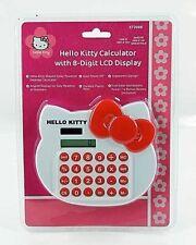 Calcolatrice Hello Kitty a 8 cifre con display LCD