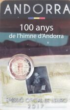 ANDORRA 2 Euro commemorative coin 2017 - 100 years of the anthem - BU blister