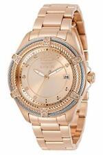 Invicta Women's 30881 Bolt Quartz 3 Hand Rose Gold Dial Watch