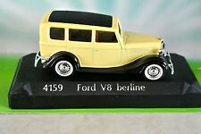 YELLOW FORD V8 BERLINE SOLIDO Model No. 4159  Scale 1:43