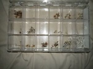 Dry Flies Lot Cahill, Quill, White Miller, and Asortment of 120