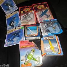 9 LOT 1981 Matchbox Skybusters sb12 LEAR JET 1987 SB23 CONCORDE FRANCE SB18 +