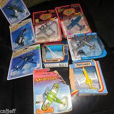9 LOT 1981 Matchbox Skybusters sb12 LEAR JET 1987 SB23 CONCORDE FRANCE SB18 +