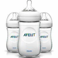 - NEW - Philips SCF01337 Avent 9oz Natural Baby Bottle - 3 Pack SCF013/37