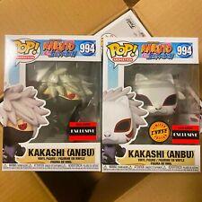 "Funko Pop Naruto : Kakashi Anbu Chase + Common Set of 2 Vinyl ""MINT"" w/Case"