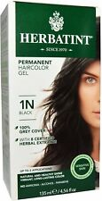 Herbatint Black Hair Color 1N, Herbatint, 1 piece