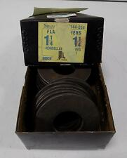 PAPCO FLAT WASHERS 1 1/4 X 1 1/4 144-034 QTY OF 21 IN BOX
