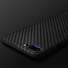 Allergy-proof Carbon Fiber Pattern TPU Case Cover for iPhone 7 6S/6 Plus FT