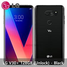 """LG V30 + 128GB LG-V300 6.0"""" V30 Plus OLED Cell Phone Smartphone Unlocked - Black"""