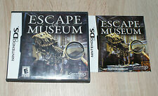 nintendo ds dsi ds lite jeu escape the museum us