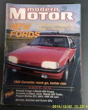 MODERN MOTOR Nov 1984 XF Falcon,Fairmont Ghia,Fairlane Fuego,Mazda   (REF TS)