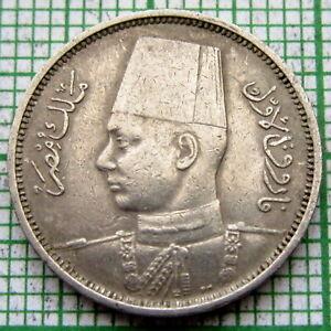 EGYPT FAROUK 1938 - AH 1257 2 MILLIEMES