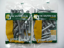 60 Step-Tees (Plastik) von THE GOLFERS CLUB