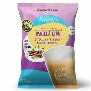 Big Train Chai Tea Latte, Reduced Sugar, Vanilla Chai, 56 Ounce, 56 Ounce