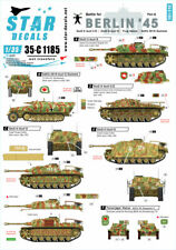 Star Decals, 35-C1185 Berlin # 4. Battle for Berlin 1945. StuG III ., SCALE 1/35