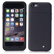 NERO Custodia caricabatterie batteria di backup per iPhone 6 6S 1 ANNO DI GARANZIA