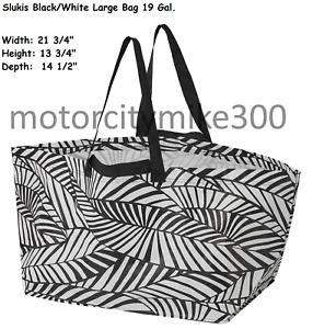 Ikea Reusable shopping bag Zipper Storage case cooler Frakta Slukis,Dimpa 19 Gal