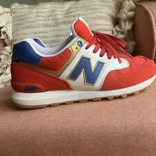 NEW BALANCE 574 SZ 10 OLYMPIC ROAD TO LONDON GAMES RED BLUE WHITE GOLD ML574OLR