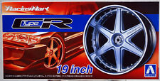 Aoshima 053935 Felgen Racing Hart Type CR 19 Zoll inkl. Reifen 1:24 # 60