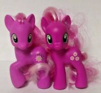 2 Different Cheerilee Pink My Little Pony G4 FIM Brushable Rare MLP Friendship