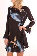 Vestito Donna Mini Abito Stampa Fiori Woman Mini Flower Print Dress 110332 P