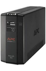 APC UPS 850VA UPS Battery Backup & Surge Protector BX850M Backup Battery AVR ...
