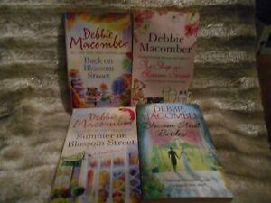 Bundle of 4 Blossom Street Debbie Macomber Womens Fiction Books
