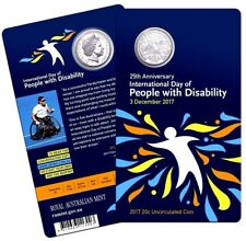 20c 25th Anniversary of International Day of People with Disability 3000 MADE