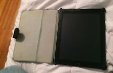 Apple iPad 2 32GB, Wi-Fi, 9.7in - Black cracked screen working well w/ stm case
