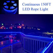 150FT Strip Lights LED Rope Light Festival 110V Party Home Outdoor Xmas Lighting
