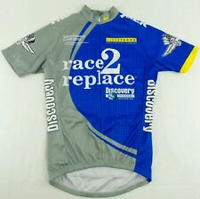 NEW Vintage Nike Livestrong race 2 replace Discovery Cycling Jersey Size Mens S