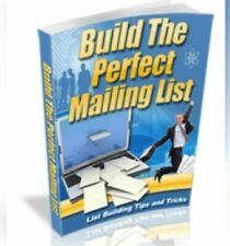 Building the perfect mailing list ebook pdf