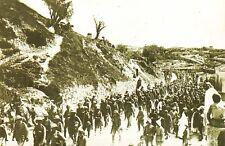 Nostalgia Postcard WW1 1917 British Prisoners, Jerusalem, Middle East Repro NS25