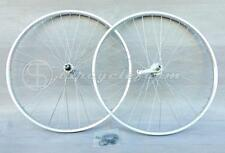 """coppia ruote bici bicicletta 26"""" contropedale alluminio ITALY city mtb cruiser"""