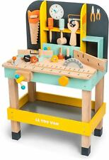 Le Toy Van Cars & Construction Alex's work bench Creative Préscolaire Jouet BN