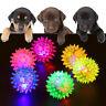 Pet Flash Balls Flashing Puppy Dog Cat Balls Voice Interactive Jumping Ball Toys