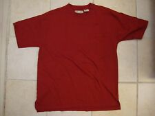 Redhead Casual Outdoor Wear Maroon Red Front Pocket T Shirt L